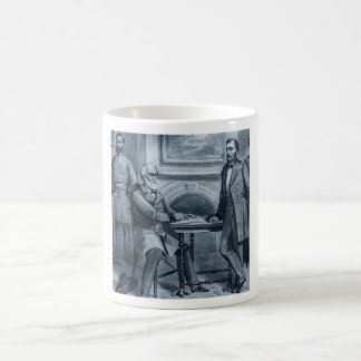 Lee's Surrender at Appomattox 1865 Vintage Coffee Mug