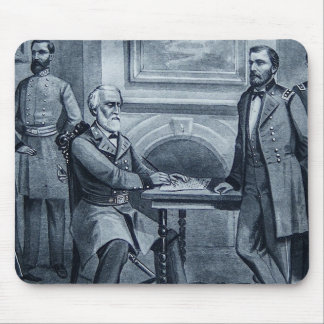 Lee's Surrender at Appomattox 1865 Vintage Mouse Pad