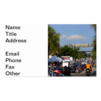 Leesburg Bikefest Double-Sided Standard Business Cards (Pack Of 100)