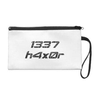 Leet Haxor 1337 Computer Hacker Wristlet Purses