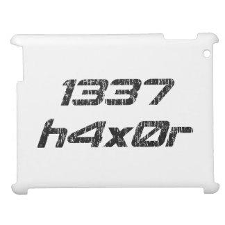 Leet Haxor 1337 Computer Hacker iPad Covers