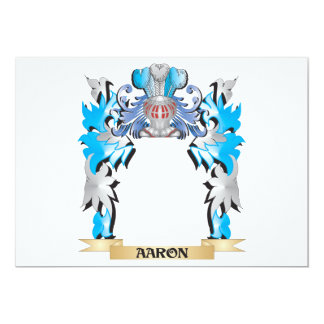 Leete Coat of Arms - Family Crest Personalized Announcement