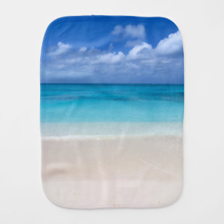 Leeward Beach | Turks and Caicos Photo Baby Burp Cloth