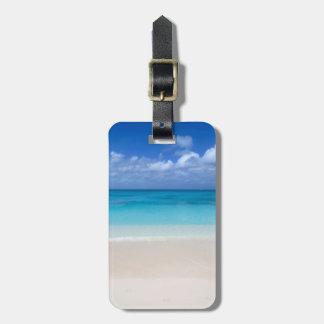 Leeward Beach   Turks and Caicos Photo Bag Tag