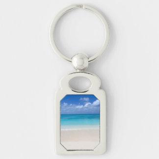 Leeward Beach | Turks and Caicos Photo Keychain