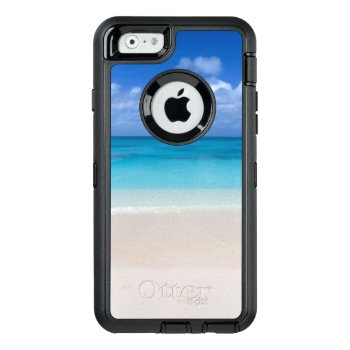 Leeward Beach | Turks And Caicos Photo Otterbox Defender Iphone Case by ElkeClarkeImages at Zazzle