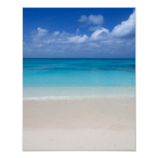 Leeward Beach | Turks and Caicos Photo Poster
