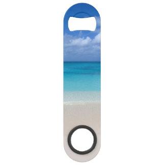 Leeward Beach   Turks and Caicos Photo Speed Bottle Opener
