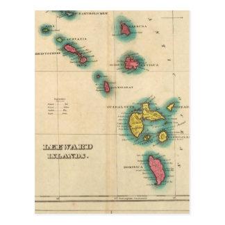 Leeward Islands Postcard