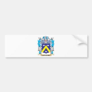 Lefebvre Coat of Arms - Family Crest Car Bumper Sticker