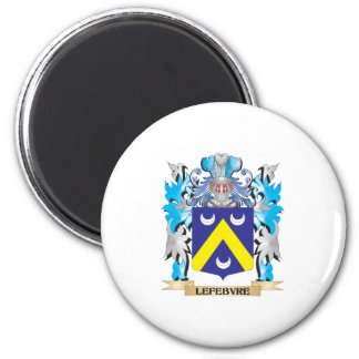 Lefebvre Coat of Arms - Family Crest Magnets