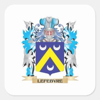 Lefebvre Coat of Arms - Family Crest Sticker
