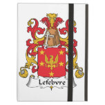Lefebvre Family Crest iPad Case