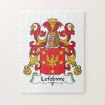 Lefebvre Family Crest Jigsaw Puzzle