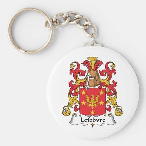 Lefebvre Family Crest Key Chain