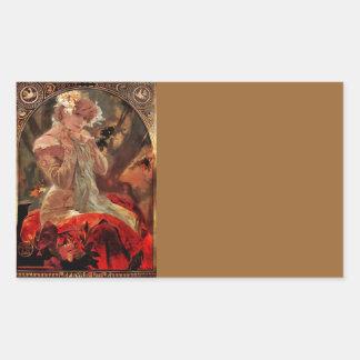 Lefevre-Utile 1903 Rectangular Sticker