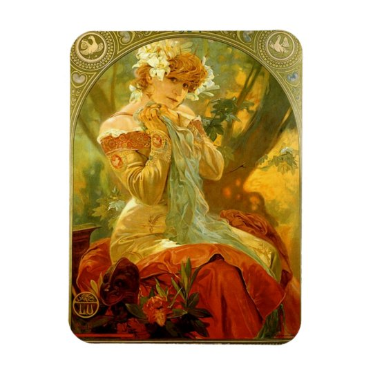 Lefevre Utile Poster 1904 Magnet