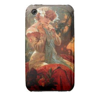Lefevre Utile vintage Mucha iphone 3G/3GS case iPhone 3 Cases