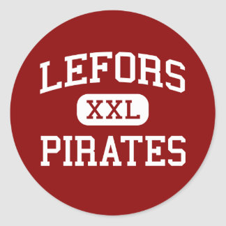 Lefors - Pirates - High School - Lefors Texas Stickers