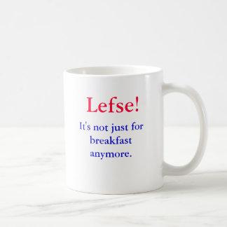 ¡Lefse!  No está apenas para el desayuno más., Tazas