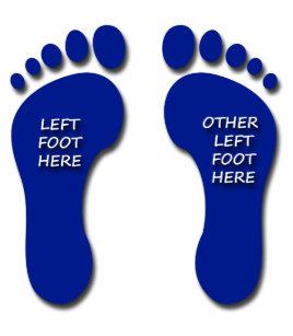 9c2b468cd Left and Other Left Foot Flip Flops