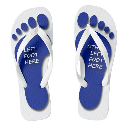 d587be69f Left and Other Left Foot Flip Flops