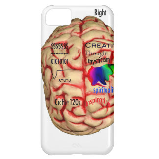 Left and Right Side of Brain iPhone 5C Cover