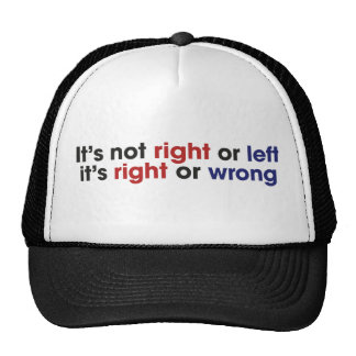 Left and Right Wing Trucker Hat