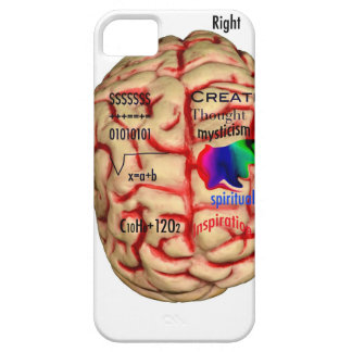 Left and Risht Side of Brain iPhone 5 Case