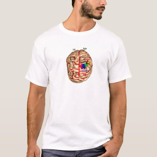 Left and Risht Side of Brain T-Shirt