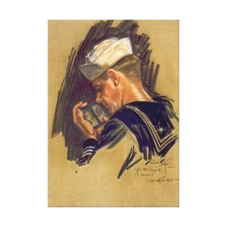 Left Behind 1918 Canvas Print