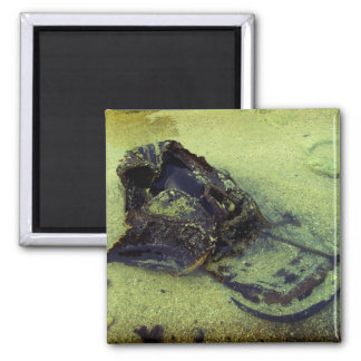 Left behind 2 inch square magnet
