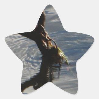 Left Behind Star Sticker