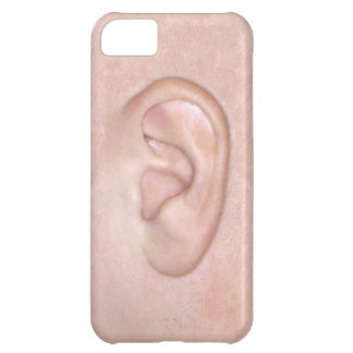 Left Ear iPhone 5C Covers