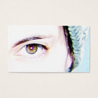 left eye business card