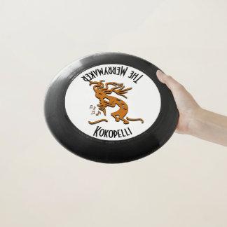 Left Facing Kokopelli Musician Wham-O Frisbee