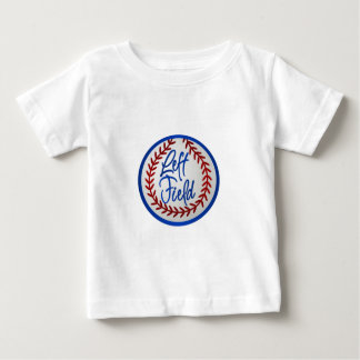 Left Field and Baseball Baby T-Shirt