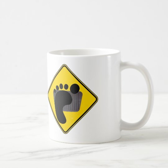 Left Foot Braker On Board Coffee Mug