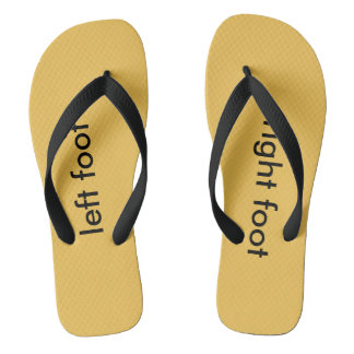 left foot right foot flip flops