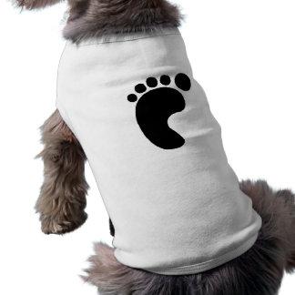 Left Footprint Pet Shirt
