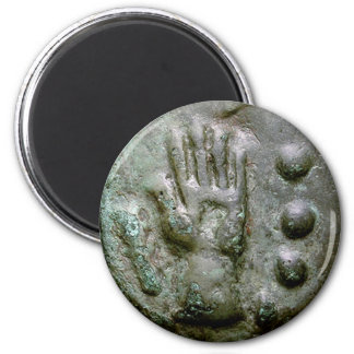 Left Hand Aes Grave Quadrans 2 Inch Round Magnet