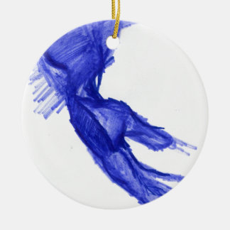 Left Hand of Expression Christmas Ornament