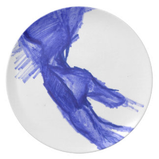 Left Hand of Expression Party Plates