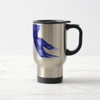 Left Hand of Expression Travel Mug