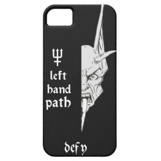 Left Hand Path Black iPhone SE/5/5s Case