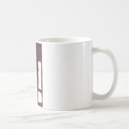 left hand side heavy, match stick coffee mugs