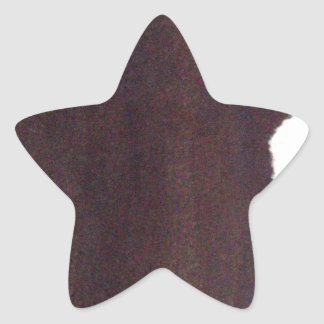 left hand side heavy, match stick star sticker