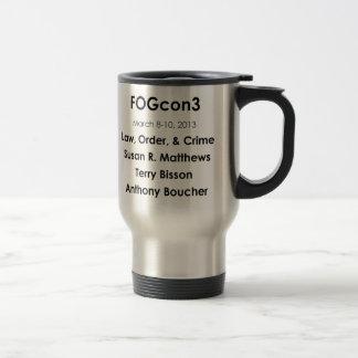 Left-Handed FOGcon 2013 Astronaut Logo Mug