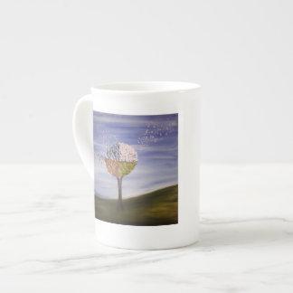 Left handed mug - Four Seasons Tree