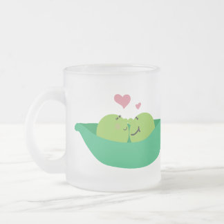 Left Handed Pea Pod Sweethearts Mug